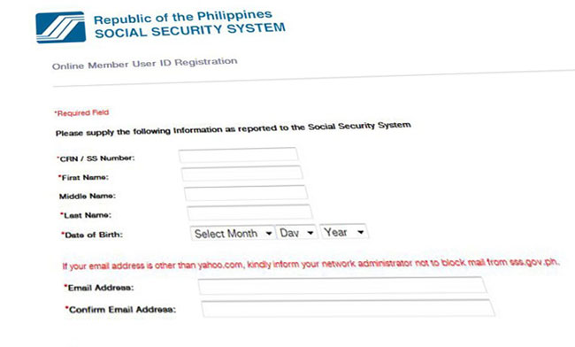 How To Recover Your SSS Online Account Username and ...
