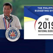 President Rodrigo Duterte approved the P3.7-trillion 2019 national budget.